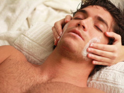 Facial spa for men